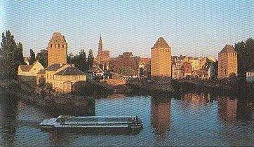 die gedeckten Brücken Straßburg