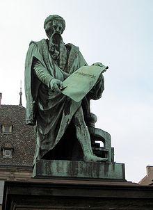 Gutenberg-Denkmal - Straßburg Führungen