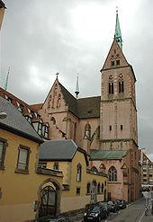 Sankt Pierre-Kirche Straßburg - Jung-St.-Peter