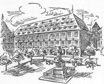 Gutenbergplatz - altes Rathaus - Straßburg Führungen